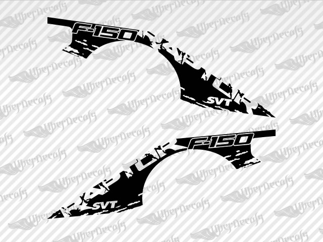 Ford SVT RAPTOR Decal Stickers - Ford raptor decals