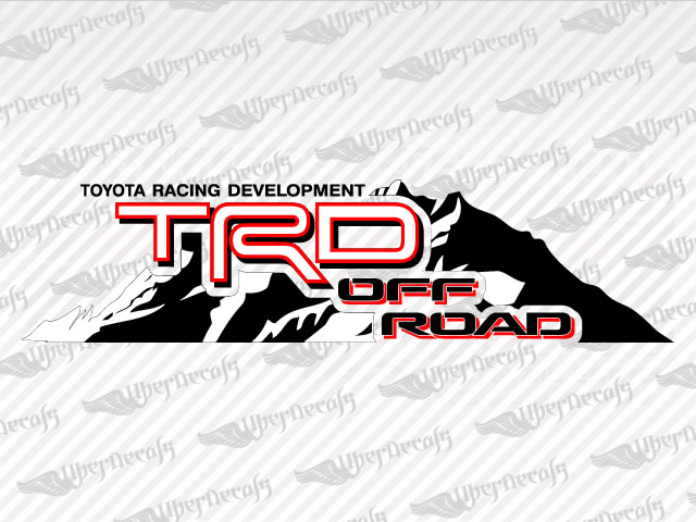 2017 Ta a Trd Pro 2 as well 252909498789 as well Product info besides 331562158248 also Toyota Trd Off Road Mountain Decal2013 10 27 03 06 421819428184 Detail. on toyota tacoma 4x4 decals