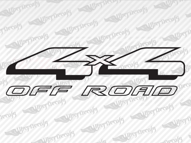 4x4 off road decals ford truck and car decals vinyl decals