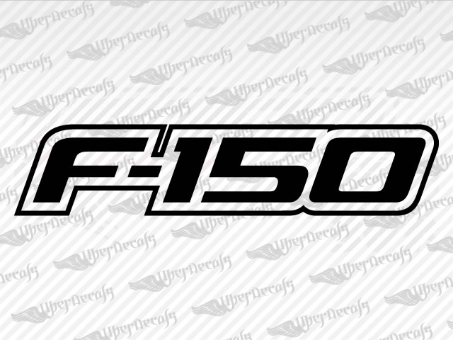 F 150 decals ford truck and car decals vinyl decals