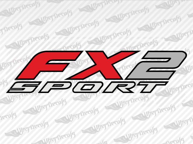Fx2 sport decals ford truck and car decals vinyl decals
