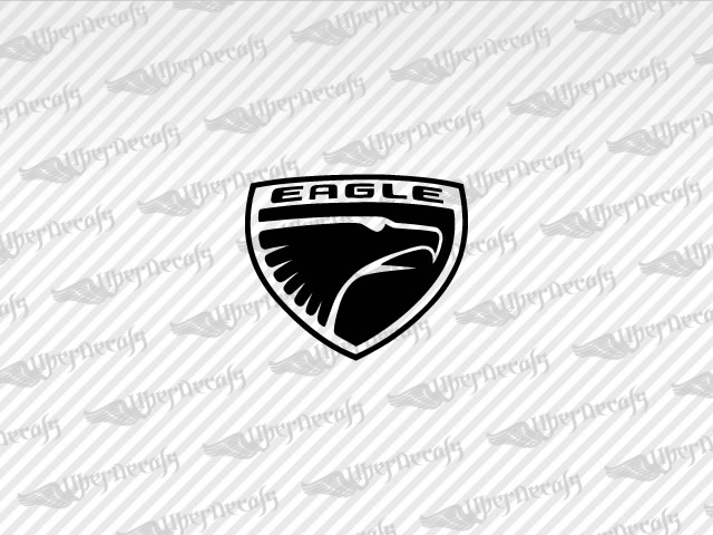 EAGLE Logo Decals | Jeep Truck and Car Decals | Vinyl Decals