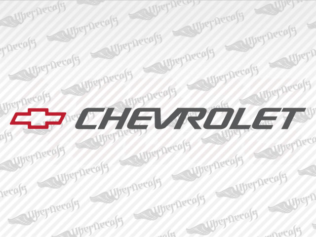 CHEVROLET Logo Decal | Chevy, GMC Truck and Car Decals | Vinyl Decals