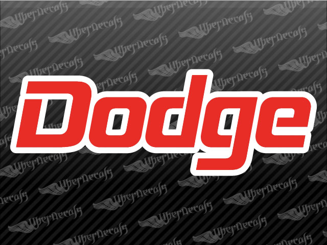 DODGE Logo Decals | Dodge Truck and Car Decals | Vinyl Decals