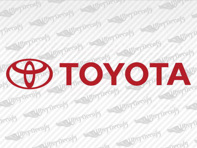 Toyota logo decals toyota truck and car decals vinyl decals