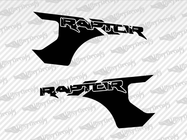 LOBO RAPTOR Decals | Ford Truck and Car Decals | Vinyl Decals