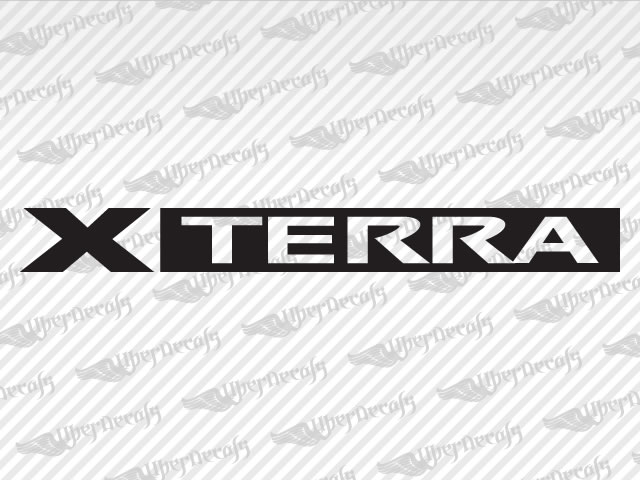 nissan xterra decal stickers