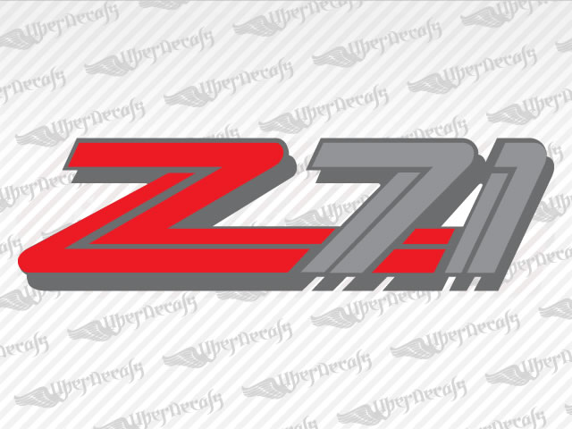Z71 Decals | Chevy, GMC Truck and Car Decals | Vinyl Decals