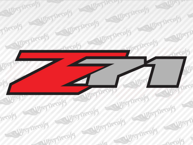 Z71 decals chevy gmc truck and car decals vinyl decals