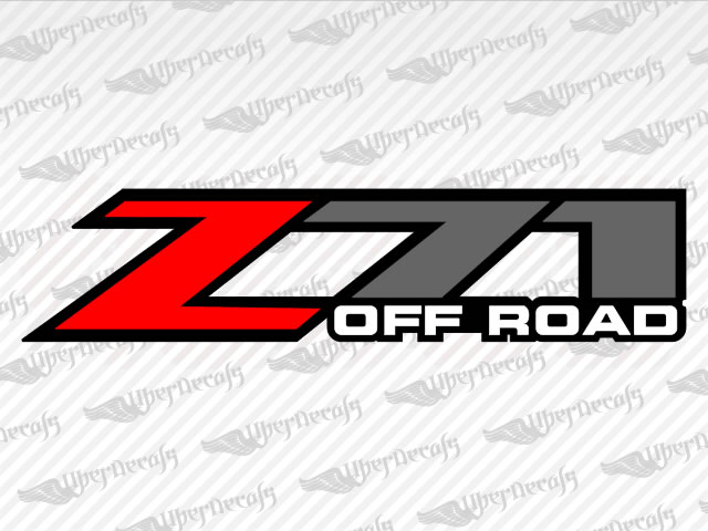 Z71 OFF ROAD Decals | Chevy, GMC Truck and Car Decals | Vinyl Decals