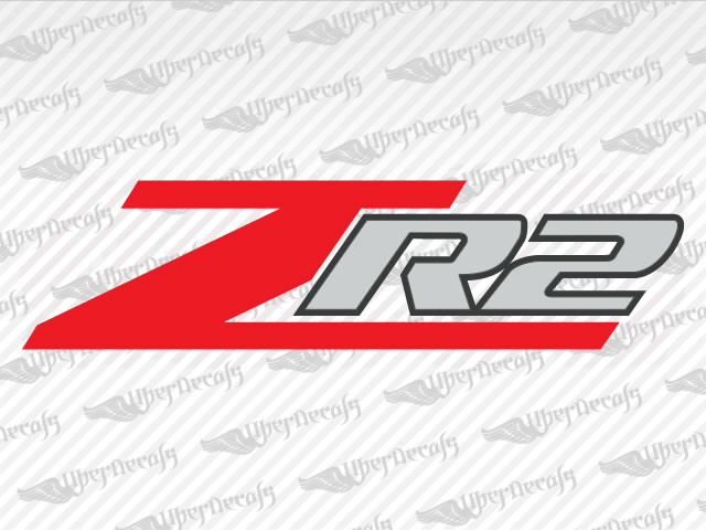 Chevy Zr2 Decal