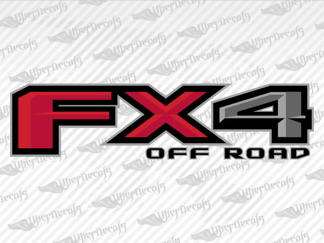 2015 / 2016 Ford FX4 OFF ROAD Decal stickers