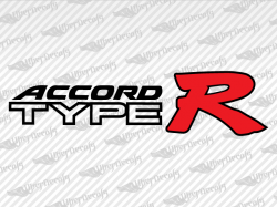 ACCORD TYPE R Decals | Honda Truck and Car Decals | Vinyl Decals