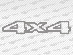 4X4 Decals | Jeep Truck and Car Decals | Vinyl Decals
