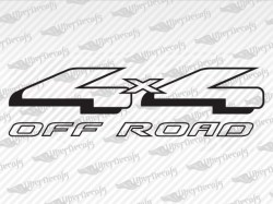 4X4 OFF ROAD Decals | Ford Truck and Car Decals | Vinyl Decals