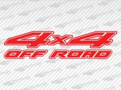 4X4 OFF ROAD Decals | Nissan Truck and Car Decals | Vinyl Decals