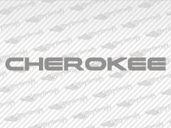 CHEROKEE Decals | Jeep Truck and Car Decals | Vinyl Decals