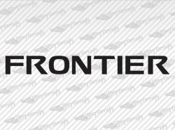 FRONTIER Decals | Nissan Truck and Car Decals | Vinyl Decals
