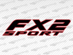 FX2 SPORT Decals | Ford Truck and Car Decals | Vinyl Decals