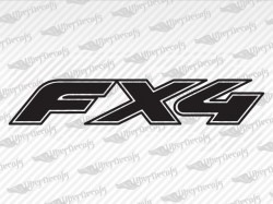 FX4 Decals | Ford Truck and Car Decals | Vinyl Decals