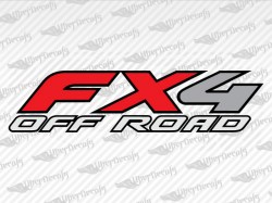 FX4 OFF ROAD Decals | Ford Truck and Car Decals | Vinyl Decals