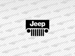 Jeep Logo Decals | Jeep Truck and Car Decals | Vinyl Decals