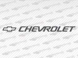 CHEVROLET Logo Decal | Chevy Truck and Car Decals | Vinyl Decals