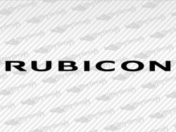 RUBICON Decals | Jeep Truck and Car Decals | Vinyl Decals