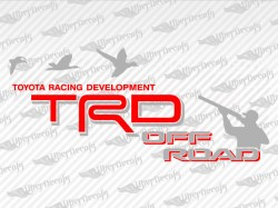 TRD OFF ROAD Duck Hunter Decals | Toyota Truck and Car Decals | Vinyl Decals