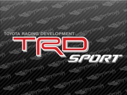 TRD SPORT Decals | Toyota Truck and Car Decals | Vinyl Decals