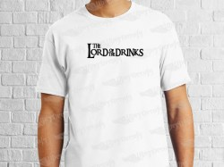 LORD OF THE DRINKS | Mens | T-shirt Vinyl