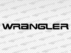 WRANGLER Decals | Jeep Truck and Car Decals | Vinyl Decals