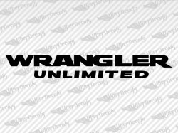 WRANGLER UNLIMITED Decals | Jeep Truck and Car Decals | Vinyl Decals