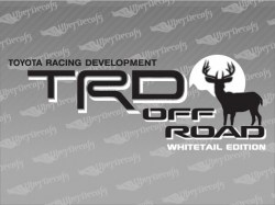 TRD OFF ROAD Deer Decals | Toyota Truck and Car Decals | Vinyl Decals
