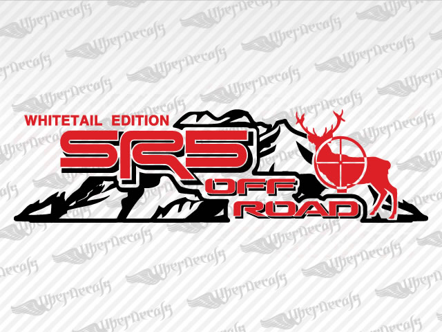 SR5 OFF ROAD MOUNTAIN DEER Decals | Toyota Truck and Car Decals | Vinyl Decals
